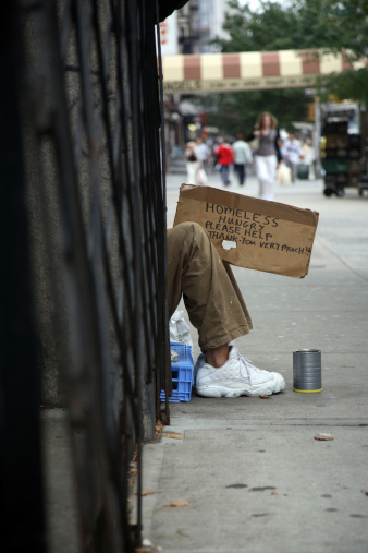 Homeless in Manhattan - Photo GettyImages