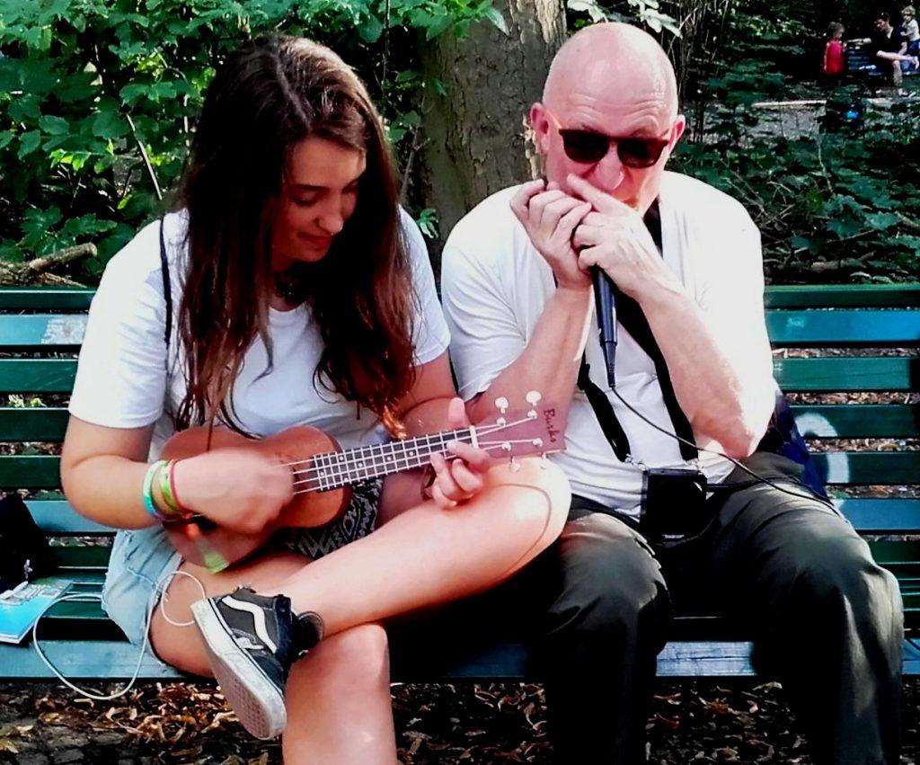 Sirena andalusa, complice ukulele - Foto Alba